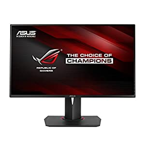 ASUS ROG Swift PG278Q 27 inch Widescreen LED Gaming Monitor (2560 x 1440, USB 3.0, NVIDIA 3D, 144 Hz, 1 ms) - Black