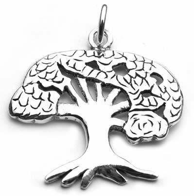 Tree of Life Charm Pendant By Peter Stone