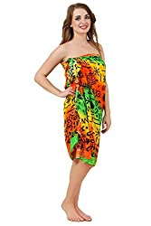 Mojeska Multiwear Pareo/Sarong Cover Up Dress and Scarf
