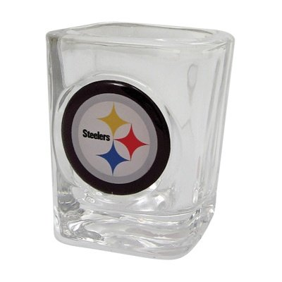 Steelers Shot Glass Crystal by Gift House