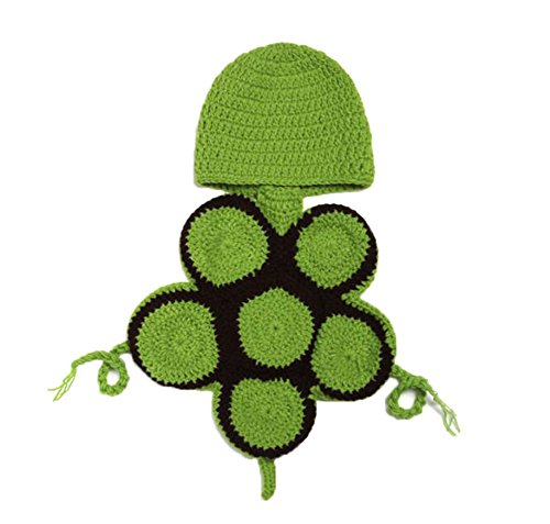 niceeshop(TM) Baby Boy Girl Turtle Tortoise Crochet Cotton Knit Aminal Beanie Cap Hats