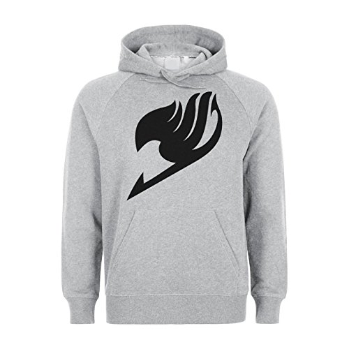 Fairy Tail Logo Design Large Unisex Hoodie
