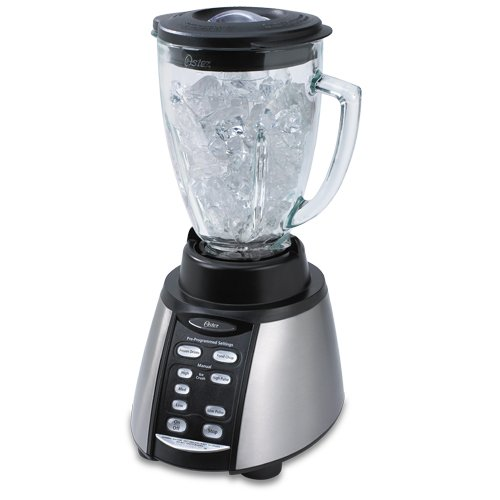 Why Should You Buy Oster BVCB07-Z Counterforms 6-Cup Glass Jar 7-Speed Blender, Brushed Stainless/Bl...