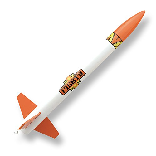 Custom Flying Model Rocket Kit Fiesta - 1