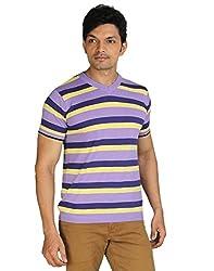 Silver Spring Lavender Super Combed Cotton T Shirt _ RVD002_L