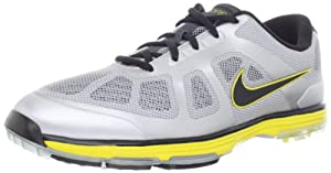 Nike Golf Men's Nike Lunar Ascend Golf Shoe,Stadium Grey/Metallic Silver/Black,11.5 M US
