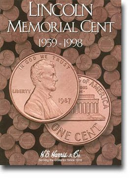 Buy Whitman Harris Lincoln Mem. Cents #1 Folder (1959-98 )