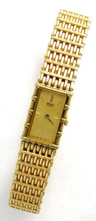 Seiko SZZB80 Gold Tone Dress Watch
