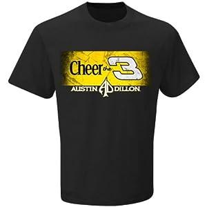 Buy Austin Dillon #3 NASCAR 2014 Adult Cheerios T-Shirt -Black by NASCAR