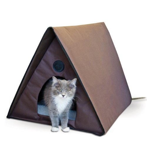 Manufacturing Outdoor Heated Kitty A-Frame Cat House