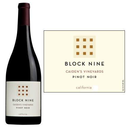 2011 Block Nine Caiden'S Vineyard California Pinot Noir 750Ml