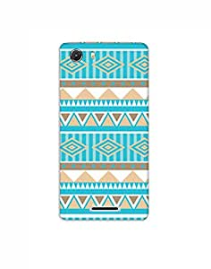 micromax nitro nkt02 (45) Mobile Case by Mott2 - Tribal Different Color Pattern