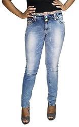 BK Black Women's Jeans (LDNRS1532902_Light Blue_38)