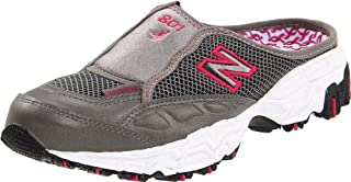 New Balance 801 Women's Clog (Grey/Red, WL801)