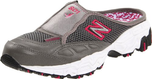 New Balance Women's WL801 Sneaker,Grey/Pink,10 B US