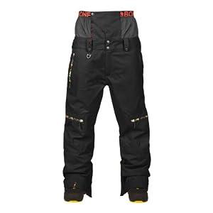 Buy Bonfire Ambition Pant (Print Black) Mens Snowboard Pants by Bonfire