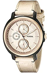 Fossil Women's ES3772 Chelsey Crystal-Accented Stainless Steel Watch