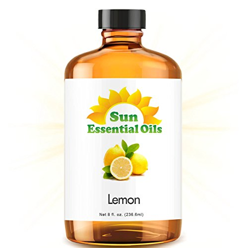 Lemon (Huge 8oz) Best Essential Oil