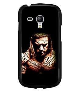 printtech Edge superhero Back Case Cover for Samsung Galaxy S3 Mini::Samsung Galaxy S3 Mini i8190
