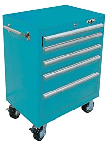 Viper Tool Storage V2605TLR 26-Inch 5-Drawer 18G Steel Rolling Tool Cabinet, Teal at Sears.com