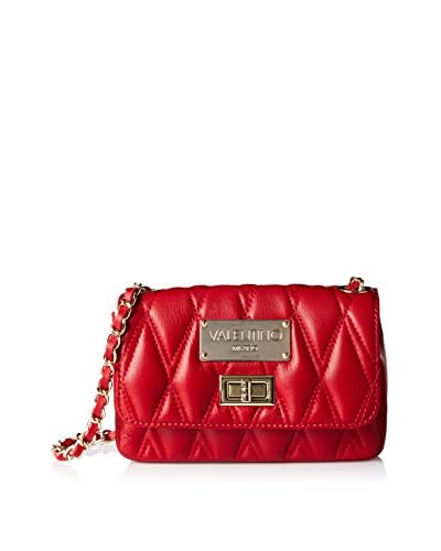 Valentino Bags by Mario Valentino Women's Noelle D Quilted Cross-Body, Rubino