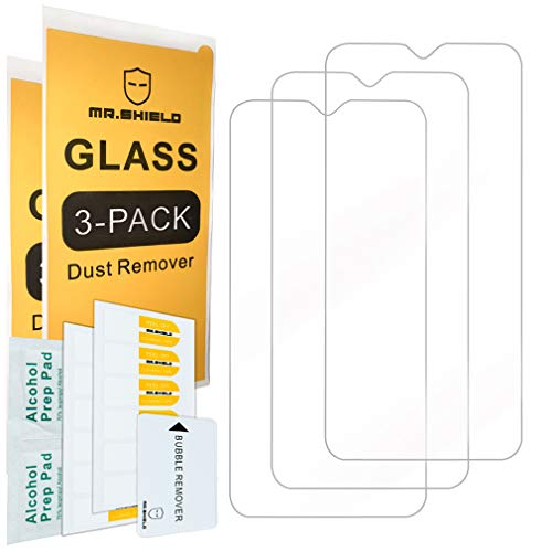 [3-Pack]- Mr.Shield for Samsung Galaxy A10 [Tempered Glass] Screen Protector [Japan Glass with 9H Hardness] with Lifetime Replacement [+Peso($58.00 c/100gr)] (US.AZ.6.99-0-B07RGQ9MKR.159541)