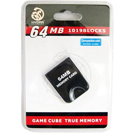 64MB 1019 Block Memory Card compatible for Wii & Gamecube