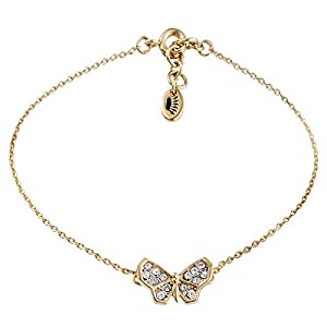 Juicy Couture Pave Butterfly Bracelet, 7.26