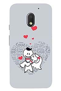 Latest Designer New Premium Printed Back Case Cover for Motorola Moto E(3rdgen) By PLESPEY