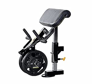 Powertec Fitness Workbench Curl Machine Accessory, Black from Powertec Fitness