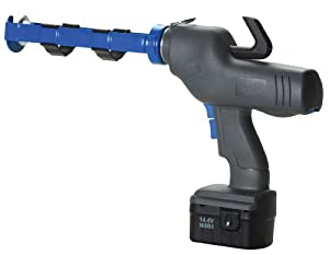 COX 82010 10.3-Ounce Cartridge 14.4-Volt Battery Operated Caulk Gun with Battery and Charger