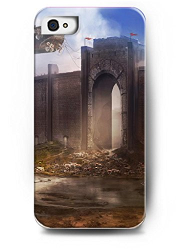 Ouo Stylish Series Case For Iphone 4 4S 4G With The Design Of One Castle'S Great Gate