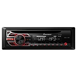 See Pioneer Single DIN Car Stereo With MP3 Playback With Built-In MOSFET 50W x 4 Amplifier, MP3/WMA/WAV Playback, 1 RCA Preout (2V), Multi-Segmented LCD Display With LED Backlight, 5-Band Graphic Equalize, Front AUX Input, Detachable Face Security Details