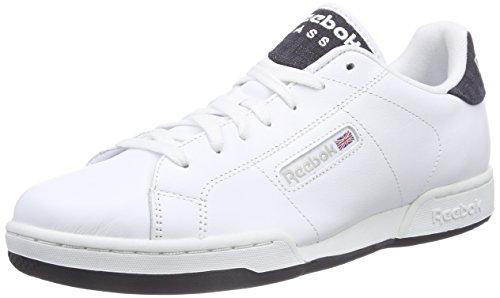 Reebok - Npc Rad Pop, Scarpe Da Tennis da uomo, bianco (white/faux indigo/steel), 41