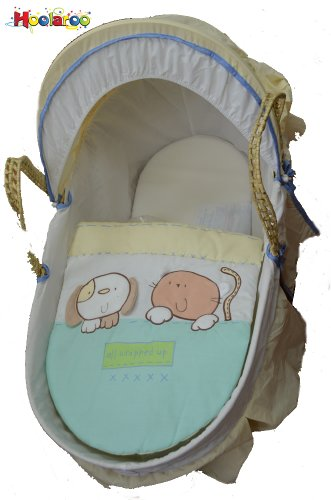 All Wrapped Up Baby Moses Basket Unisex