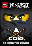 LEGO Ninjago: Cole/Jay 2-in-1 Ninja Handbook