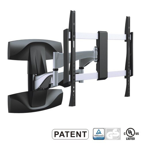 "Mount-It! Solid Aluminum Premium Quality Swivel Wall Mount For 37-70"" Sony, Samsung, Panasonic, Sharp, Insignia, Lg, Vizio"