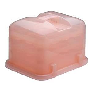 Cupcake Courier 36-Cupcake Plastic Storage Container, Petal Pink