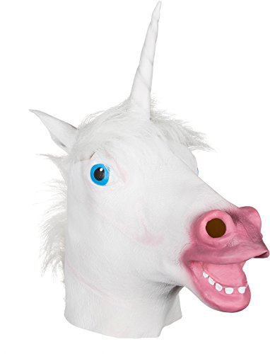 Giant Animal Masks by Allures & Illusions - Unicorn Head Horse Mask