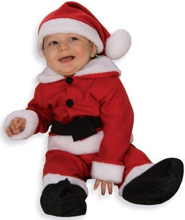 Baby Christmas Costumes XMAS Santa Clause Claus Infant Romper Holiday Costume Theme Party Outfit