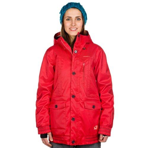 O'Neill Rose Snowboard-Jacke - Society Rot