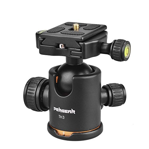 PergearHeavy-Duty-Photography-Camera-Tripod-Ball-Head-360-Degree-Fluid-Rotation-Tripod-Ballhead-For-DSLR-Camera-Quick-Release-Plate