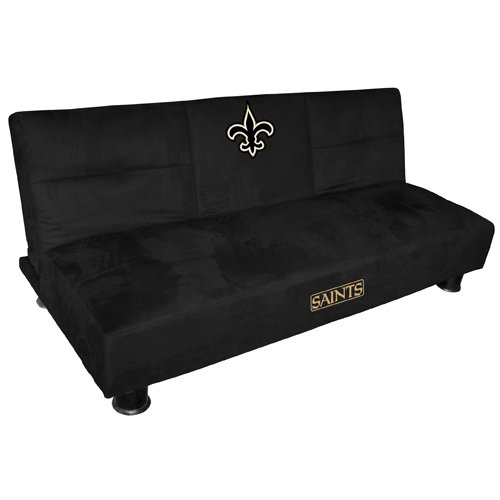New Orleans Saints Convertible Sofa with Tray at Amazon.com