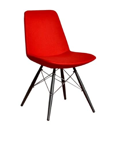 Aeon Furniture Paris 5 Side Chair, Set of 2, Red As You See
