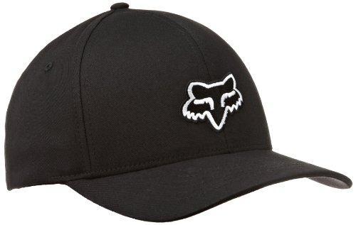 fox-legacy-flexfit-mens-cap-black-black-sizel-xl