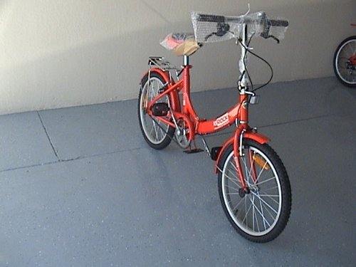 Folding Bike 20 Inchces Color RED