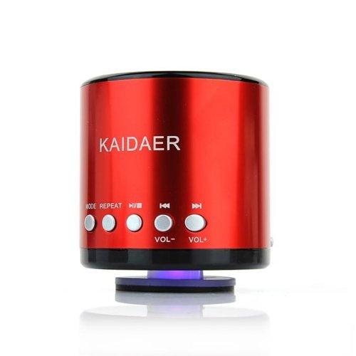 S-Mobile Kaidaer Portable Mini Wireless Bluetooth Speaker (Kd-Mn02Bt) (Red)