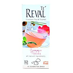 Te Reval Summer Fields Herbal Infusions Tea, 2g (15 Tea Bags)