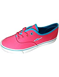 New Style Mart Women's Pink Canvas Sneakers