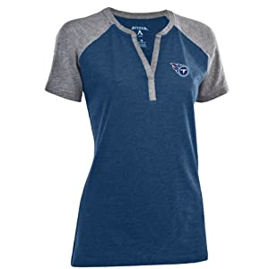 Tennessee Titans NFL Shine Ladies Jersey tee (Navy) by Antigua